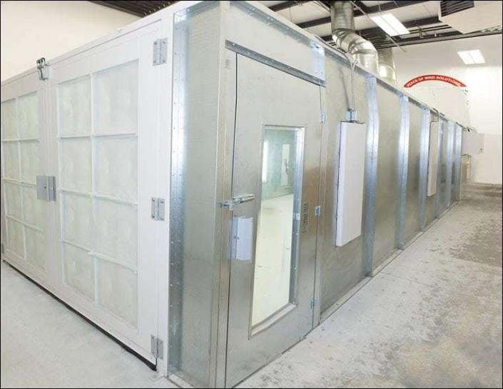 Spray Paint Booth Harding S Painting Cleaning