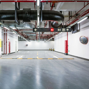 Concrete Sealing Underground Parkade