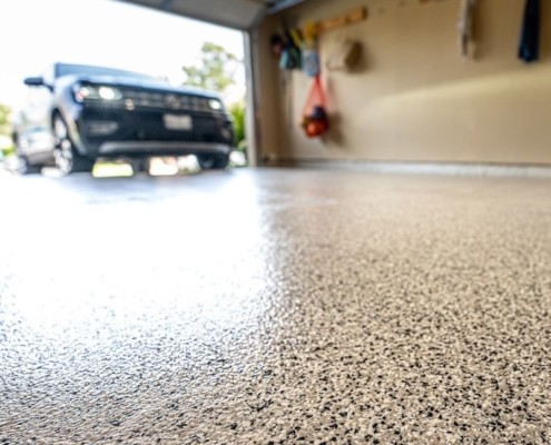 Why Is Epoxy The Best Garage Floor Coating Harding S Painting Cleaning Window Washing Texturing Renovations Handyman